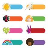Peace tabs Stock Image