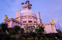 Peace Temple side view Royalty Free Stock Photos