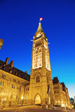 Peace Tower - Ottawa, Ontario, Canada Stock Images