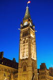 Peace Tower Royalty Free Stock Images