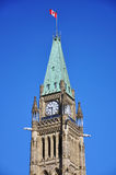 Peace Tower of Parliament Buildings, Ottawa Stock Photography