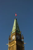 Peace Tower at Parliament Hill Royalty Free Stock Images