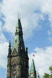 The Peace Tower On Parliament Hill, Ottawa. Ontario, Canada Royalty Free Stock Images