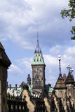The Peace Tower On Parliament Hill, Ottawa. Ontario, Canada Royalty Free Stock Photo