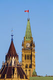 Peace Tower on Parliament Hill in Ottawa Royalty Free Stock Photography
