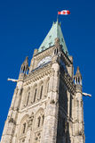 Peace Tower at Parliament Hill Royalty Free Stock Photography
