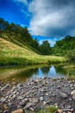 Peace and tranquillity in Scottish Glen. Royalty Free Stock Photography