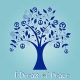 Peace Tree Royalty Free Stock Photography