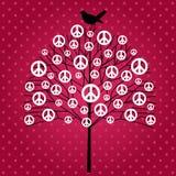 Peace tree Royalty Free Stock Image