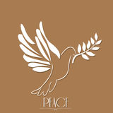 Peace, Vector illustration Stock Photography