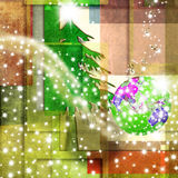 Peace in the world Christmas background Stock Image