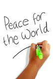 Peace for the World Royalty Free Stock Photography