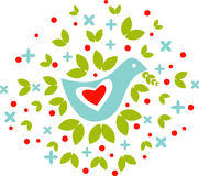 PeaceBird Illustrazione di Stock