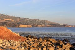Peaceful afternoon at  Palos Verdes,  California stock photo