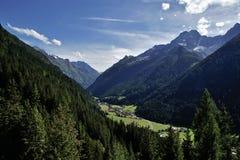 Peaceful alpine valley, Austria Stock Photos