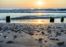Free Peaceful And Relaxing Place By The Sea With Sense For Balance And Tranquility And Harmony Royalty Free Stock Image - 140873056