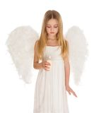 Peaceful angel Stock Image