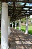 A Peaceful Arbor. In Presidio Park, San Diego Stock Photography