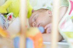 Peaceful baby Royalty Free Stock Images