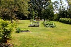 Peaceful backyard Royalty Free Stock Photo