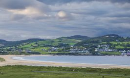 Ballymastocker Bay Donegal. The Peaceful Ballymastocker Bay Co.Donegal Eire Royalty Free Stock Images