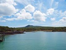 Peaceful Bay, Rangioto Volcanic Island Stock Image