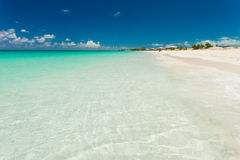 Peaceful beach in the Bahamas Stock Photography