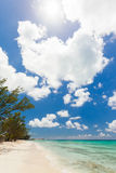 Peaceful beach in the Bahamas Stock Photo