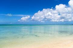 Peaceful beach in Japan Royalty Free Stock Photography