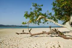 peaceful beach at Koh Lawa, Phang Nga province, Thailand stock photo