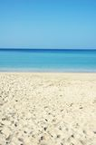 Peaceful Beach Scene Royalty Free Stock Images