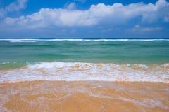 Peaceful beach scene Royalty Free Stock Photography