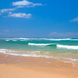 Peaceful beach scene Royalty Free Stock Photos