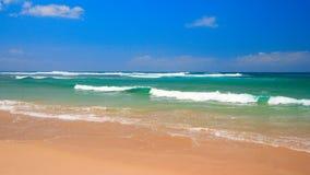 Peaceful beach scene Stock Photography