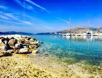 Ciovo island beach royalty free stock image