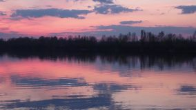 Peaceful beautiful nature quiet place stock video