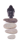 A peaceful Buddha statue Royalty Free Stock Photos