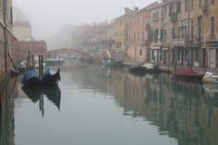 Peaceful canal Stock Photos