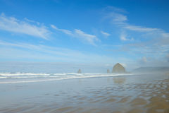 Peaceful canon beach Stock Images