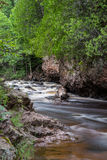 Peaceful Cascade River. This is a stream at Cascade River State Park in Minnesota Stock Photos