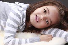 Peaceful child Stock Photos