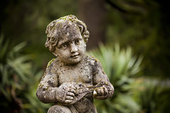 Peaceful Child Statue Royalty Free Stock Photos
