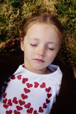 Peaceful Child Royalty Free Stock Photos