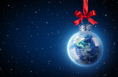 Peaceful Christmas All Over The World Stock Photo