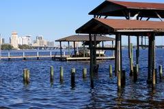 Peaceful city view Stock Photos