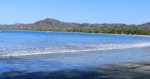 Peaceful coastline scene in Costa Rica 4K. A Peaceful coastline scene in Costa Rica 4K stock video footage