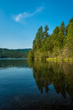 Coeur d Alene Lake  Royalty Free Stock Photo