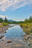 Peaceful Creek Landcape Royalty Free Stock Image