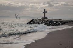 Peaceful Cross Stock Image
