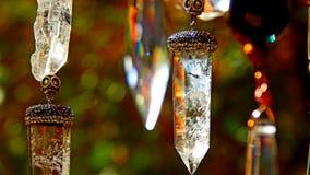Peaceful Crystal garden stock photo
